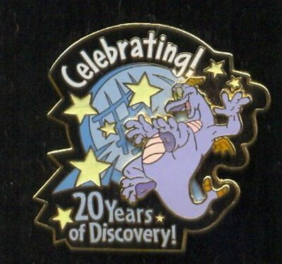 Disney WDW EPCOT Figment Celebrating 20 Years of Discovery Pin