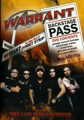 Warrant: They Came from Hollywood (DVD Used Very Good)