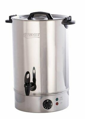 Burco Cygnet 20L Electric Water Boiler In Stainless Steel, Hot Drinks, Catering