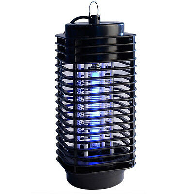 Electric Mosquito Fly Bug Insect Zapper Killer Insect Trap Lamp Indoor Outdoor
