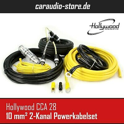 Hollywood CCA 28 - 10 mm² All Inclusive Kabelkit