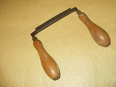 "3 1/2"" Drawknife Made Form A Spoke Shave Iron - As Photo."