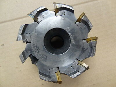 "4"" Carboloy R220.43-04.00-07Ct Carbide Insert Indexable Face Mill"