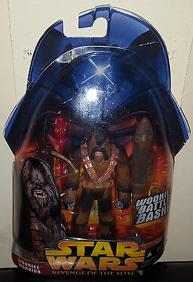 Star Wars Wookiee Warrior #43 Revenge Of The Sith Ep3 Action Figure Rare New