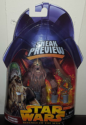 Star Wars Wookiee Warrior Sneak Preview Revenge Of The Sith Action Figure 3 Of 4