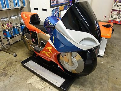 IRACER MOTORCYCLE KIDDIE RIDE coin op MACHINE