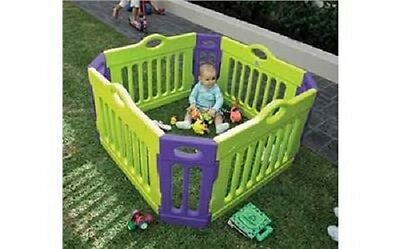 Infa Dolphin Play Yard - Multi  Plastic Playpen large Safty Baby Toddler