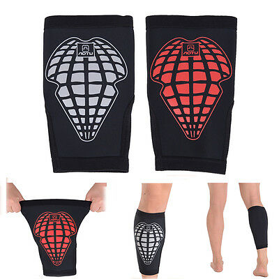 1pc Bike Cycling Leg Support Pad Shin Pad Calf Guard Wrap Protector Gym Sleeve