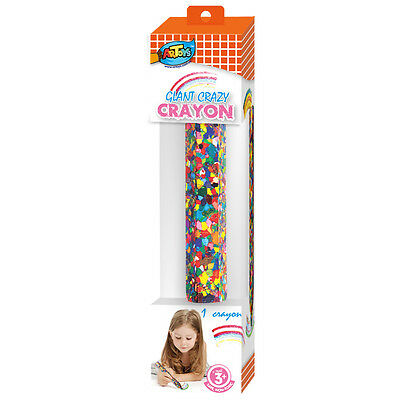 Giant Crayon with rich colours,rainbow,Non Toxic, Safe for Toddlers and  Kids