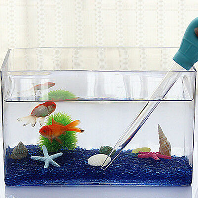 Aquarium Pipette For Fish Tank Clean Coral Target Food Gravel Cleaner Straw 50ml