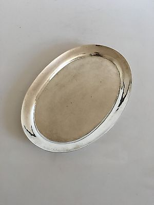 Georg Jensen Silver Tray from 1919