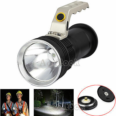 CREE XM-L T6 18650 HandHeld LED Flashlight Rechargeable Torch Light Lamp+Charger