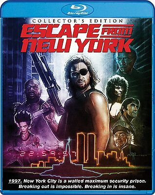 ESCAPE FROM NEW YORK  (1981 Collector's Edition) Region A - BLURAY - Sealed