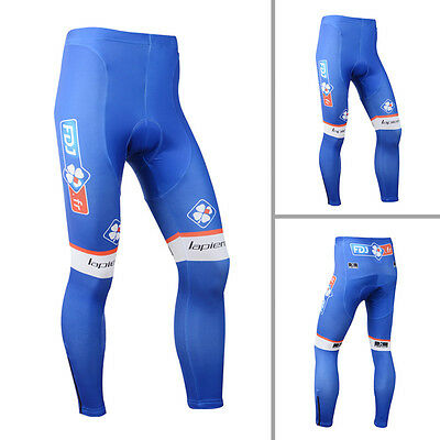 Bike Bicycle Long Pants Cycling Trousers Racing Tights With Padding Quick Dry