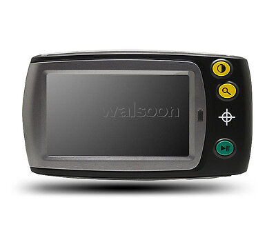 """Low Vision Aid 4.3"""" Portable Video Magnifier Display 7 Color Mode 6-25X TV Out"""