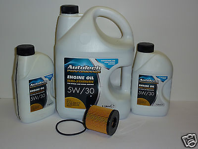 Ford Transit MK7  Semi Synthetic 5w30 Motor Oil  7 Litres with Oil Filter