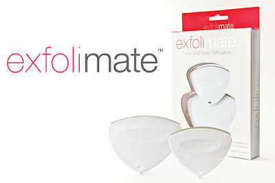 Exfolimate twin set face and body exfoliation tools for healthy skin. NOT ISONIC