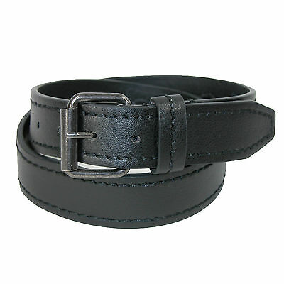 New CTM Leather Money Belt