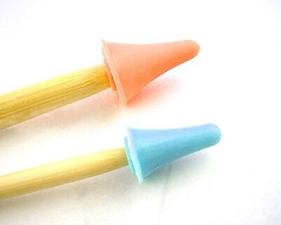 Point Protectors for Knitting Needles Small or Large or Mix Stitch stoppers UK