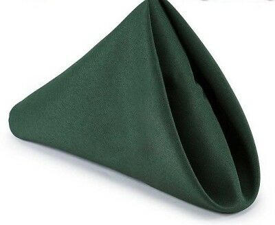 50 Premium Green Wedding Restaurant Dinner Cloth Linen Napkin 20X20 Party Linens