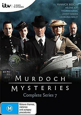 MURDOCH MYSTERIES : SEASON 7 -   DVD - UK Compatible - New & sealed
