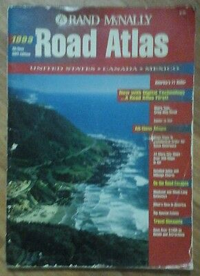 Rand McNally Road Atlas 1993 - U.S. Canada Mexico