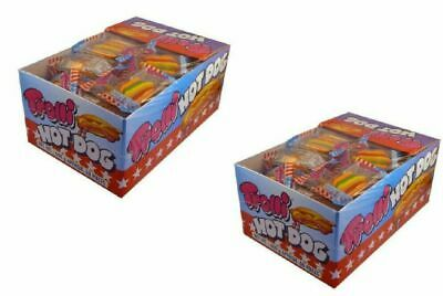 120 x Trolli Hot Dog Individually Wrapped Bulk Lollies  Party Favours Buffet