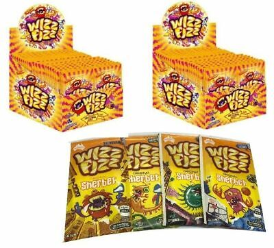 50 x Wizz Fizz Original Sherbet 12.5g Bulk Sweets Party Favor Candy Buffet Lolly