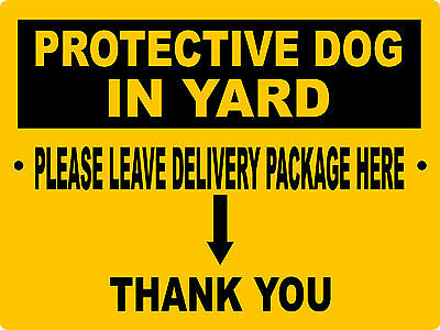 Property Warning Aluminum Sign Vinyl Grapics Delivery Package Pdiy3