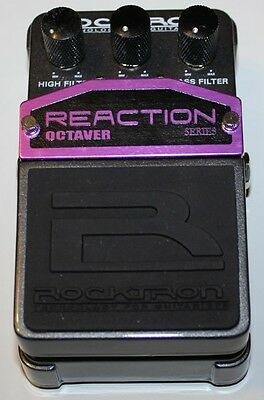 RockTron Reaction Octaver Pedal, Brand New in Box, Free Shipping