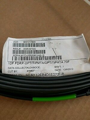 Corning Cable Optical Fibre SST Easy Access Drop 12F FDRP Connectorised 70ft