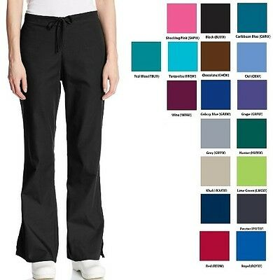 Cherokee Srubs Workwear Flare Drawstring Pants 4101 Regular Choose Color/Size
