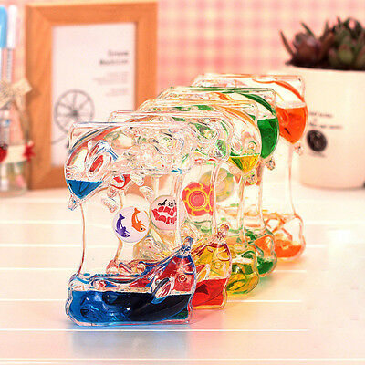 Liquid Oil Hourglass Timber Creative Small Gift Fashion Home Decoration