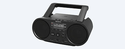 Sony BoomBox  CD Player   Radio Tuner   USB Playback   Audio In  ZS-PS50