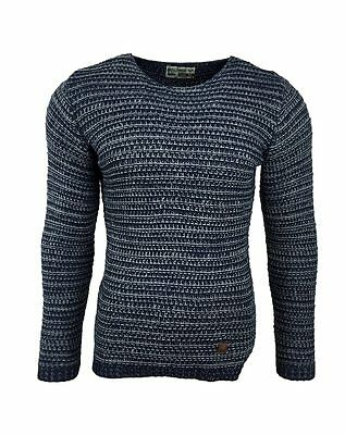 Subliminal Mode – Pull Over Col Rond Homme Tricot SB-15065 Petite Maille