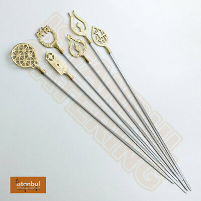 5X Archway 46Cm Chicken Lamb Skewer Shish For Kebab Shop Turkish Kebab Shish