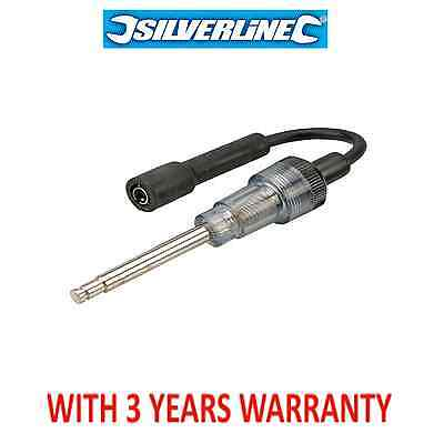 Silverline In-Line Auto Ignition Spark Plug Coil Tester Cars,Vans, Bikes,633982