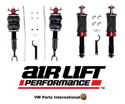 VW Passat B5 B5.5 Air Lift  Front & Rear Performance Kit AWD Only Air Ride Su...