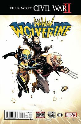 All New Wolverine #9 (2016) 1St Printing Bagged & Boarded Rcw2