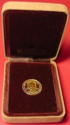 IOM Isle of Man Manx 1980 22ct Gold Queen Mother Crown Proof COA 1000 Limited Ed
