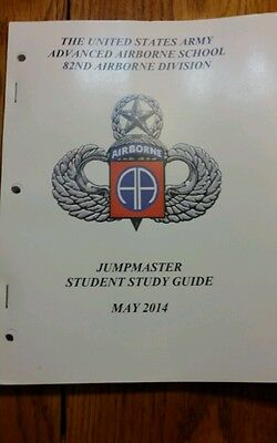 US Army 82nd Airborne Division Advanced Airborne School jumpmaster studyguide 14