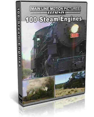 100 Steam Engines on one DVD - Main Line Motion Pictures Train Video