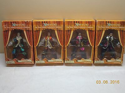 Nsync ON TOUR 2000 COLLECTORS EDITION- 4 FIGURES IN UNOPENED BOX