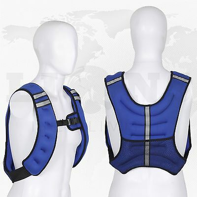 Weighted Vest 10Kg Home Gym Weight Training Running Adjustable Excercise Jacket