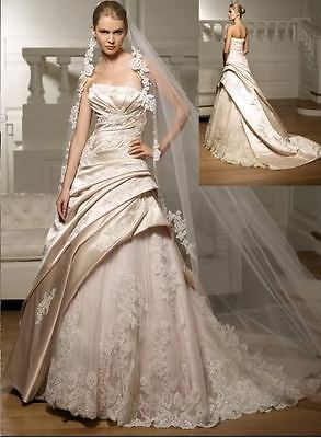 604 Abiti da Sposa vestito nozze sera wedding evening dress