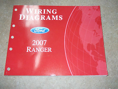 2002 ford ranger truck electrical wiring diagrams service shop 2007 ford ranger truck electrical wiring diagrams service shop repair manual ewd