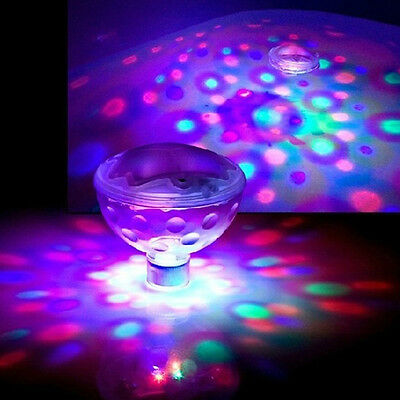 Aqua Glow LED Underwater Light Show Swimming Pool Disco Party Spa Bath Pond SE
