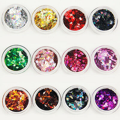 1Pc Women Nail Rhombus Style Sequins Making DIY Tool 14 Colors to Choose Novelty