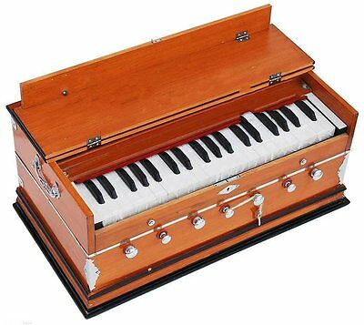 HOME DECOR EDH 7 Stop Bass Male Reed  440 Hz Multi Fold harmonium