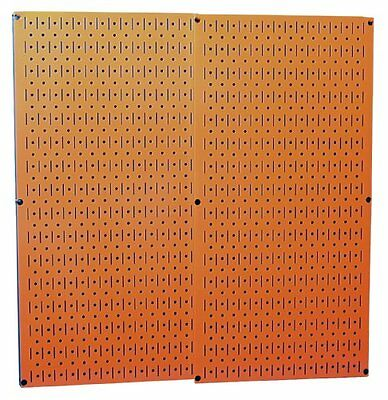 Wall Construction Boards Control 30P3232OR Orange Metal Pegboard Pack